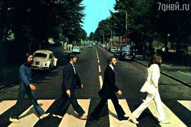 Обложка альбома Abbey Road, 1969 год