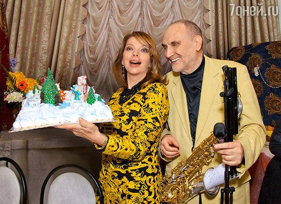 Катя Рождественская и Алексей Козлов