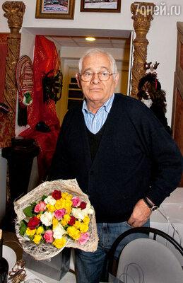 Давний друг семьи Рождественских Леонид Рошаль