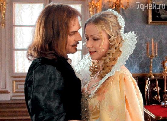 Пробы для фильма «Три мушкетера». Мария Миронова (королева Анна Австрийская) и Константин Лавроненко (герцог Бекингэм)