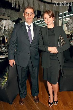 Анна Банщикова с мужем Всеволодом