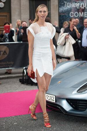 Мария Шарапова в платье Antonio Berardi
