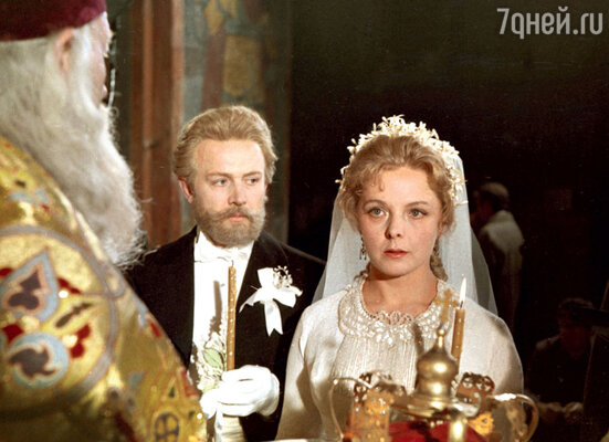 С Лилией Юдиной в фильме «Чайковский». 1969 г.