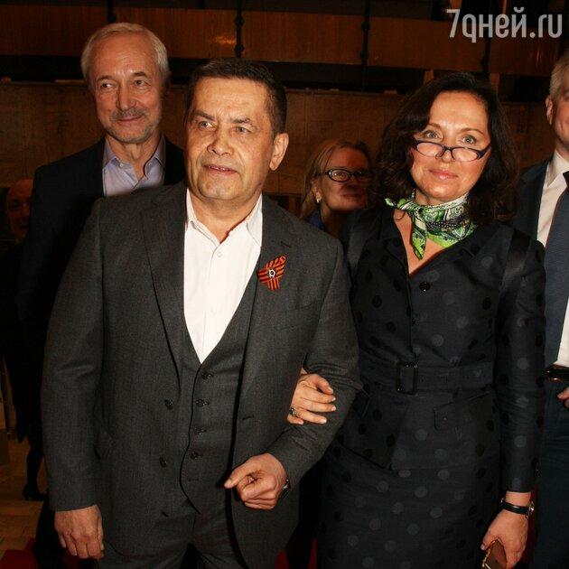 Николай Расторгуев с женой Натальей, Евгений Герасимов