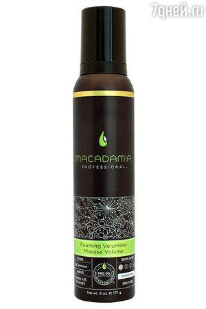 Мусс для объема Foaming Volumizer Mousse Volume от Macadamia Professional
