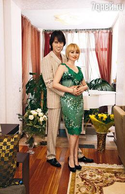 Катя Лель с мужем Игорем