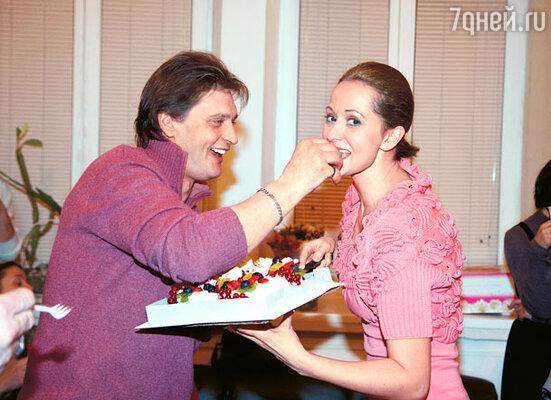 Александр Домогаров и Ольга Кабо