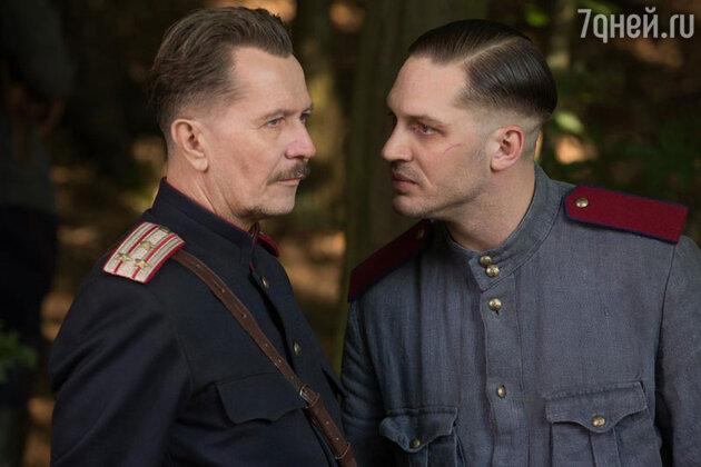 Гэри Олдман и Том Харди