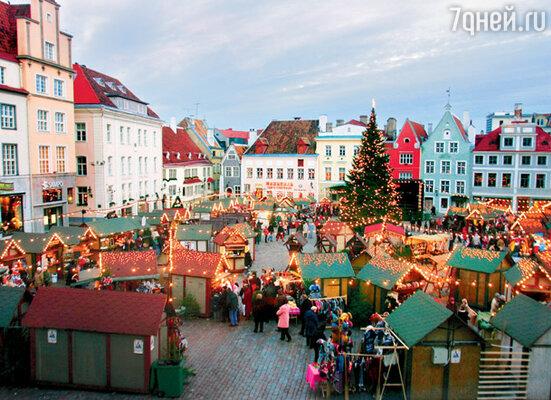 Ратушная площадь — сердце Таллина