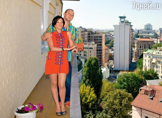 Балкон с роскошным видом на Киев стал решающим фактором в выборе жилья
