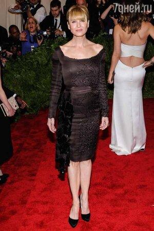 Рене Зеллвегер в платье от Prada на вечере Met Gala в 2013 году