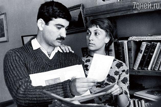Георгий Шенгелая и Софико Чиаурели