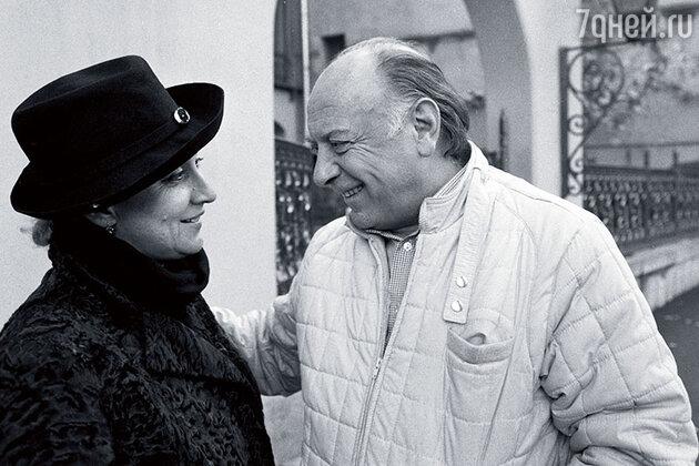 Софико Чиаурели и Котэ Махарадзе