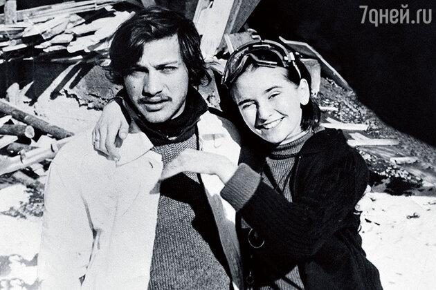 Николай Шенгелая и Ия Нинидзе