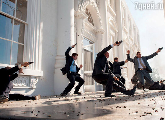 Кадр из фильма «Падение Олимпа»