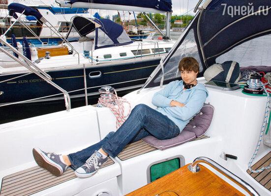 Александр — желанный гость на любой норвежской яхте