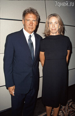 Форд со своей второй женой Мелиссой Мэтисон