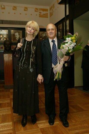 Юлия Меньшова и Владимир Меньшов