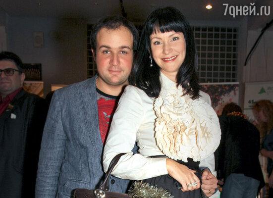 Нонна Гришаева с мужем Александром Нестеровым