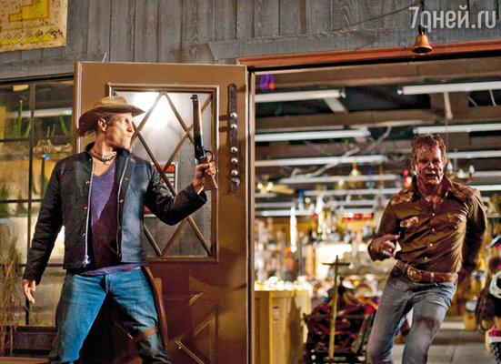 Кадр из фильма «Добро пожаловать в Zомбилэнд»