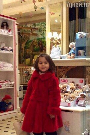 Дочка Виктории Бони  Анджелина Летиция