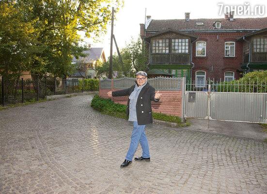 В центре Зеленоградска осталось много улиц, мощенных булыжником