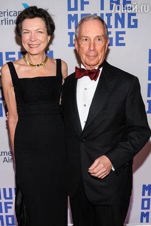 Майкл Блумберг с женой