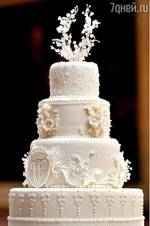 Свадебный торт Кейт Миддлтон и принца Уильяма