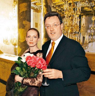 Илзе Лиепа с мужем Владиславом Паулюсом