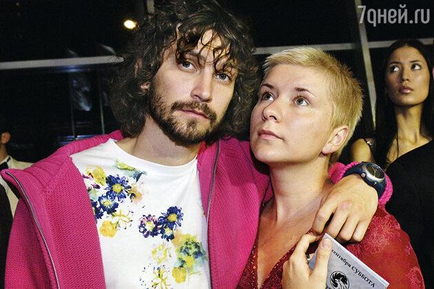 Владимир Кристовский с женой Валерией
