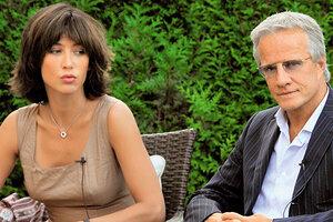Софи Марсо разводится с Кристофером Ламбертом из-за романа с писателем