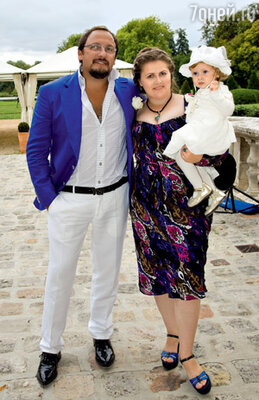 Михайлов с дочерью своего погибшего брата Екатериной и его внучкой Валерией