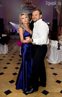 ...и сестра Инны Анна с мужем Андреем