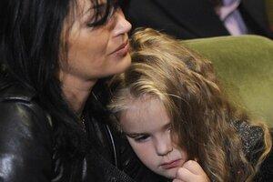 9-летняя дочь Александра Абдулова снимается в кино