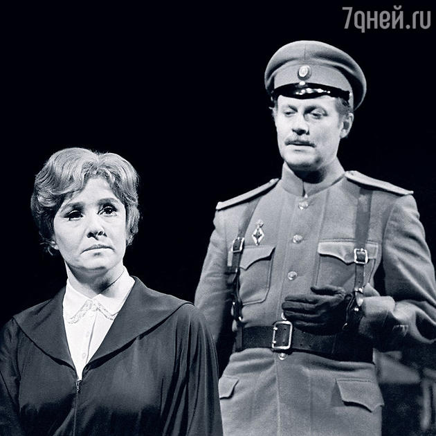 Руфина Нифонтова с Юрием Соломиным