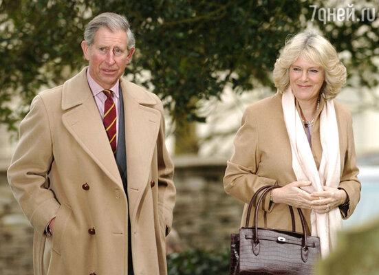 Принц Чарльз с Камиллой Паркер-Боулз