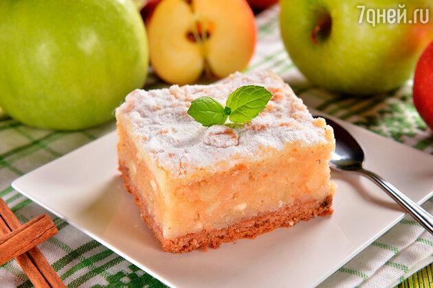 Десерт «Яблочное мороженое»