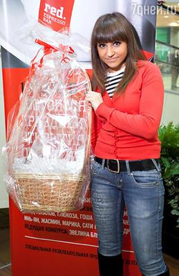 Алеся - победительница конкурса латте-художников.