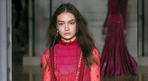 Показ новой коллекции Valentino: да здравстует розовый!