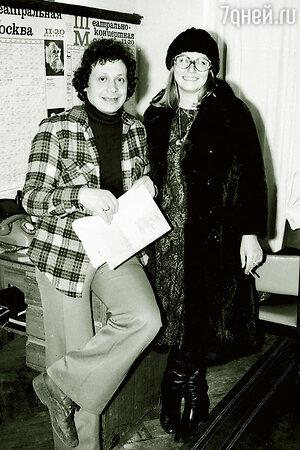 Валерий Янклович и Марина Влади