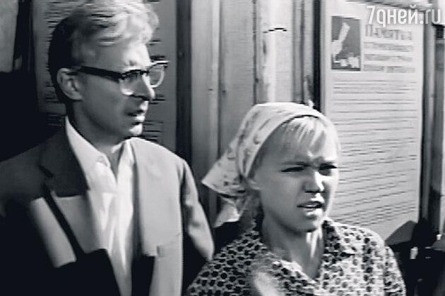 Олег Ефремов и Людмила Гурченко