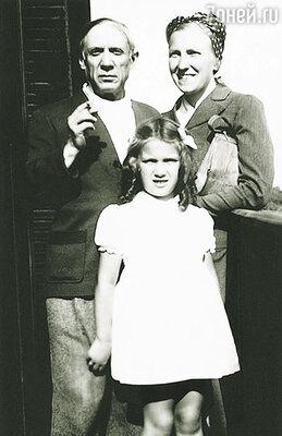 Пабло оставил множество портретов  Мари-Терез и их дочери Майи