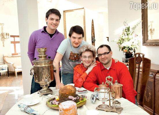 «Однажды в метро Игорь вдруг сказал мне: «Я хочу, чтобы ты стала матерью двух моих сыновей!»