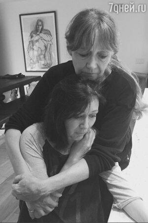 Шеннон Доэрти с мамой
