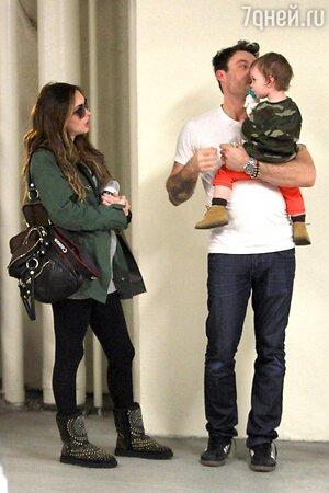 У Брайана и Меган уже есть сын, полуторагодовалый Ноа Шэннон Грин