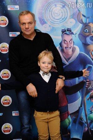 Александр Мохов с сыном