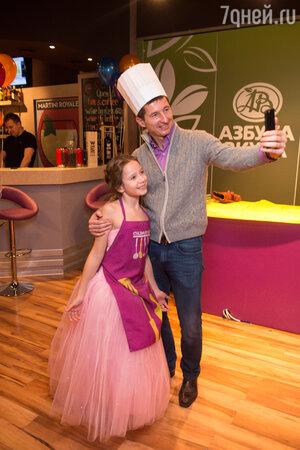 Сергей Алдонин с дочерью Верой