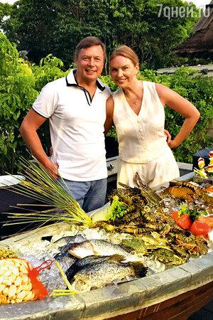 Варвара с  мужем