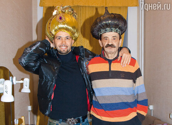 Денис Клявер с отцом Ильей Олейниковым