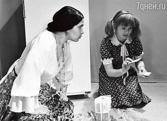 С Ириной Муравьевой в картине «Карнавал»